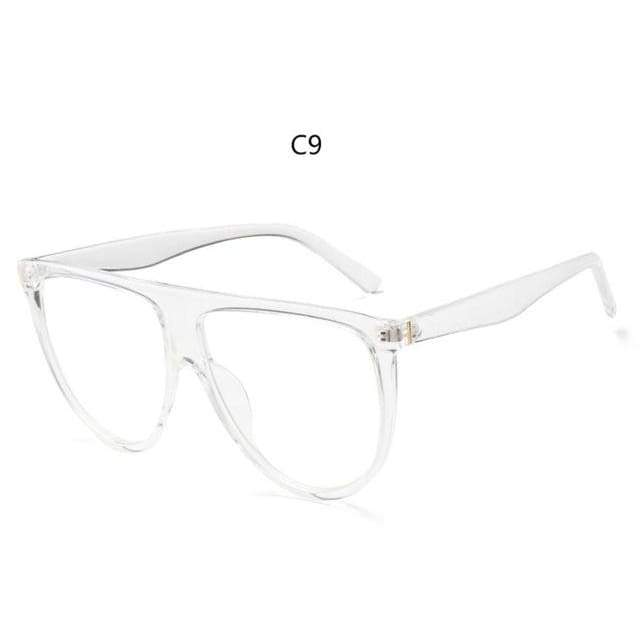 Flat Top Sunglasses - C9