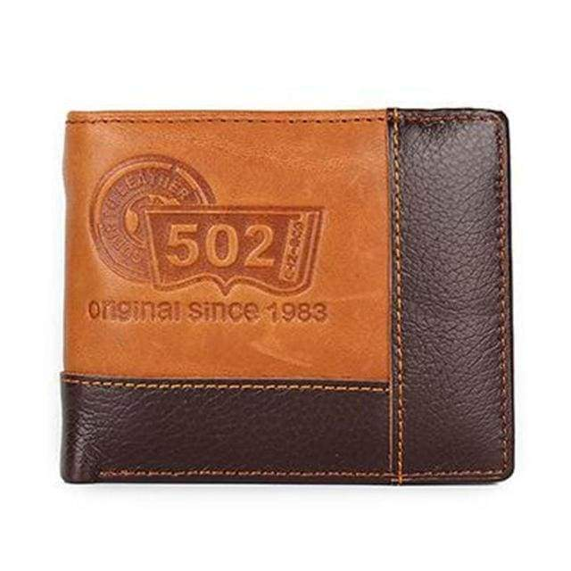 Genuine Leather Wallet - Type3