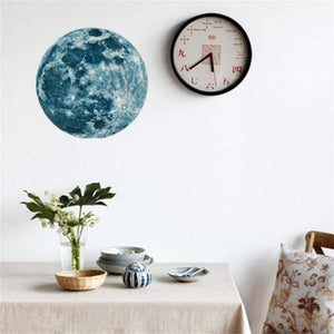 Luminous Moon Florescent Wall Sticker