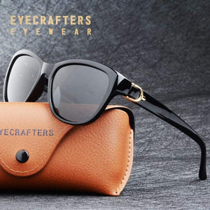 Luxury Cat Eye Polarized Sunglasses