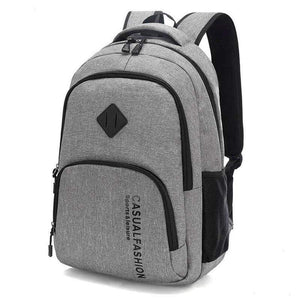 Mens Fashion Canvas Laptop Backpack