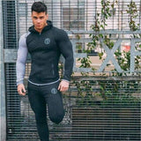 Mens Fashion Sportswear Tracksuits - Dark grey 2 / M