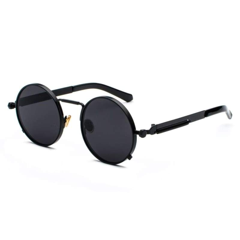 Metal Frame Retro Vintage Steampunk Sunglasses