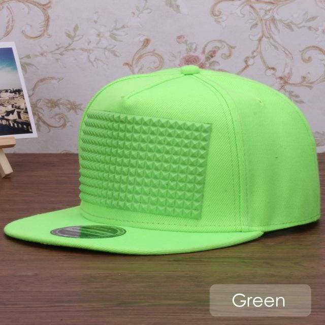 New Fancy Stylish 3D Snapback - Green / Kids Size