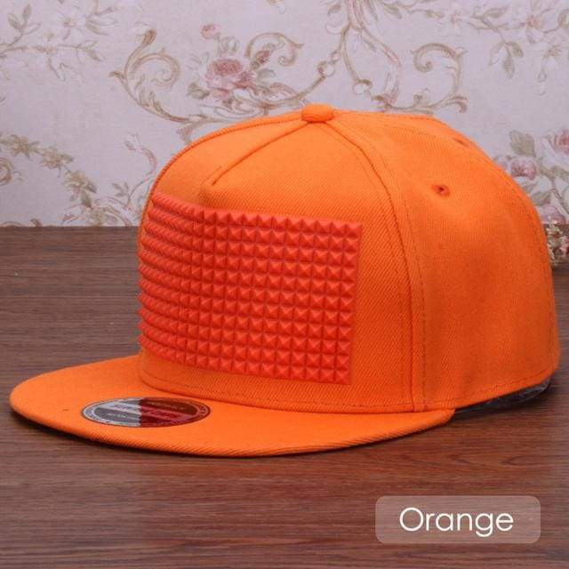 New Fancy Stylish 3D Snapback - Orange / Kids Size