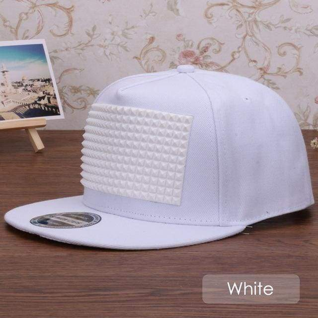 New Fancy Stylish 3D Snapback - White / Kids Size