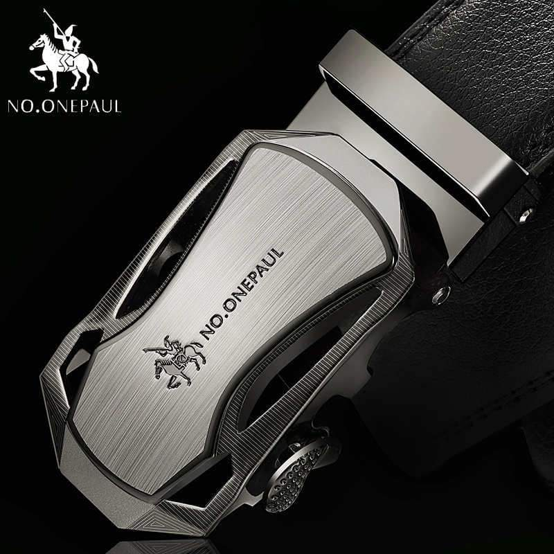 NO.ONEPAUL Automatic Buckle Genuine Leather Belts