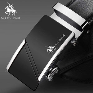 NO.ONEPAUL Automatic Buckle Genuine Leather Belts - SB / 100cm