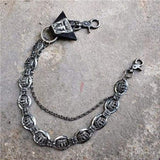 Trendy Silver Metal Waist Chain Belt - 012B