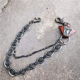 Trendy Silver Metal Waist Chain Belt - 012C