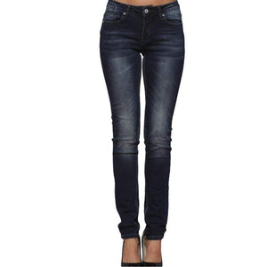 Womens Casual Stretch Skinny Jeans