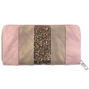 Womens Vintage Patched Pattern Clutch Wallet