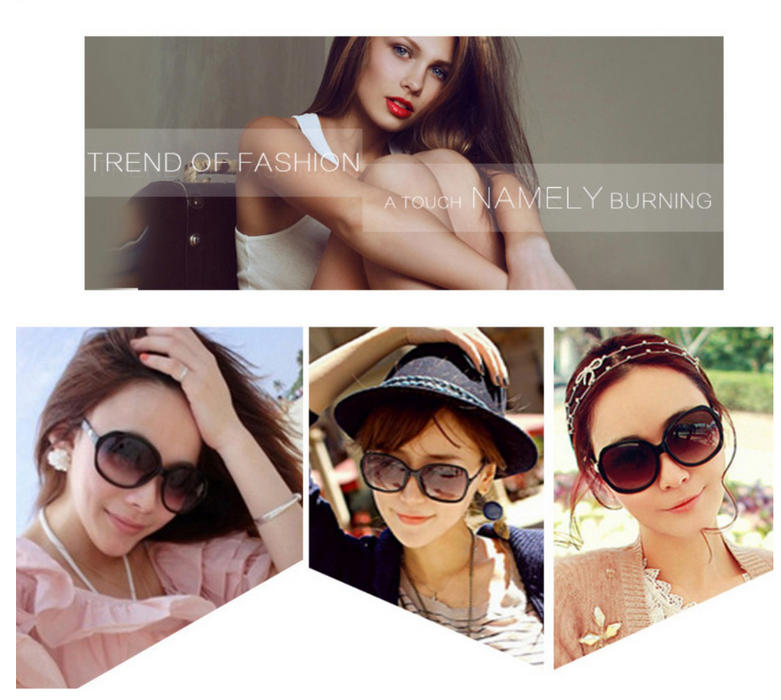 CnM Women Fashion Large Oval Sunglasses (Pay Shipping Only) - case.n.more