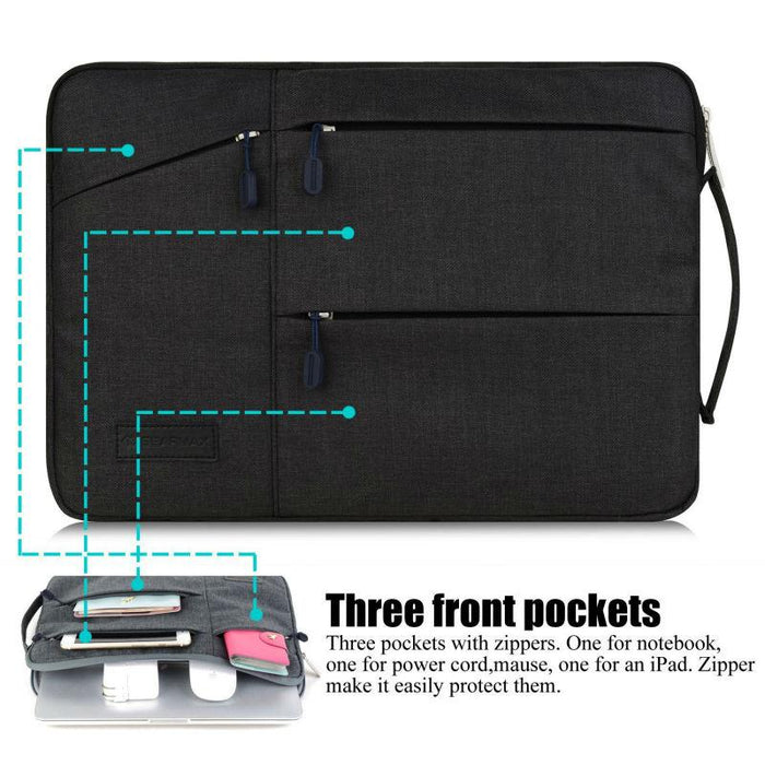 New Pocket Bag for MacBook Pro 13 15 Case for Xiaomi Air 13.3 Waterproof Laptop Case for Lenovo 14 Cover for MacBook Air 13 - case.n.more