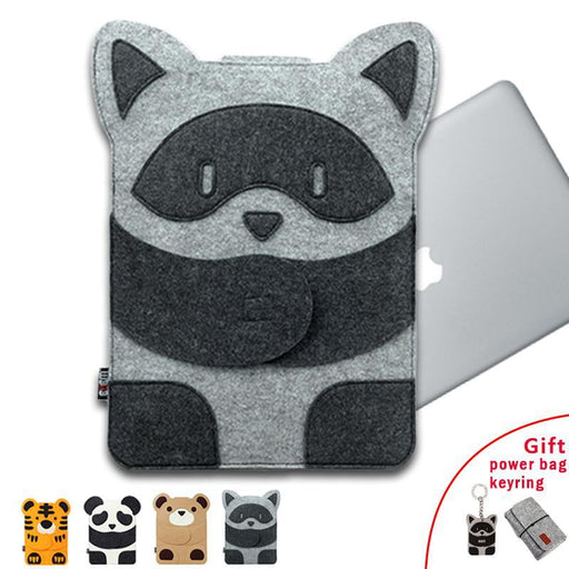Laptop Bag for MacBook Air Pro 11 12 13 14 15 Laptop Sleeve Case for Mac 13.3 Inch Cute Cartoon Characters + Free Gift