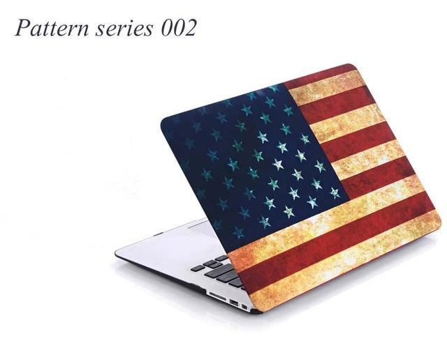 Pattern Case For Apple Macbook Air Pro Retina 11 12 13 15 Laptop Cover For Mac book 13.3 inch