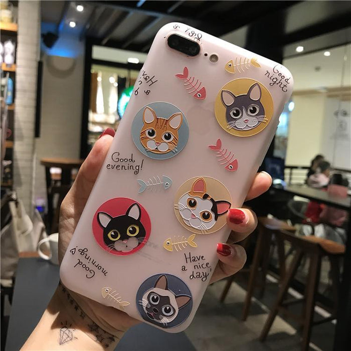 iPhone 6 Case iPhone 7 8 6S 6 7 8 Plus Case Silicone Niceking Cute Cartoon - case.n.more