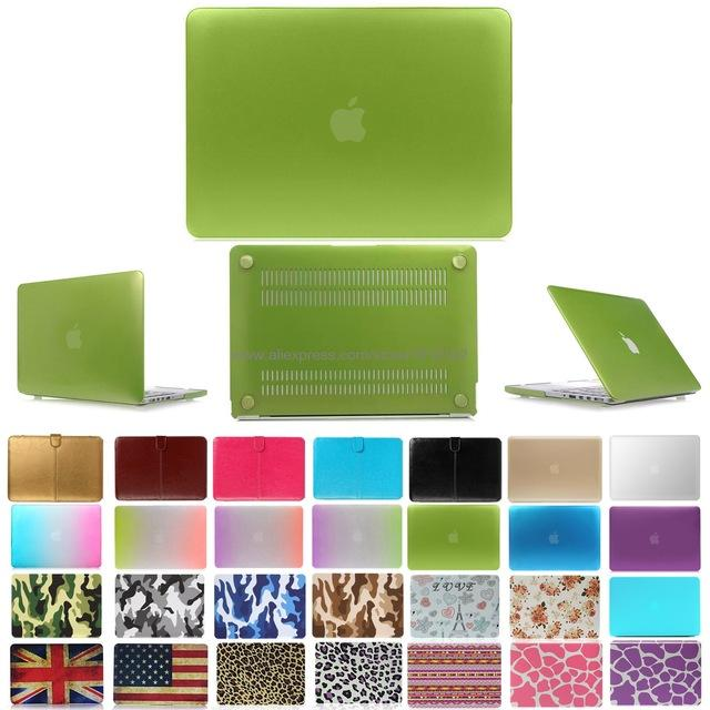 "Fashion Matte Patterns Hard Case Cover for 11"" 11.6"" Apple Mac Macbook 13"" Air 13.3"" Pro Retina 15.4 inch Accessories - case.n.more"
