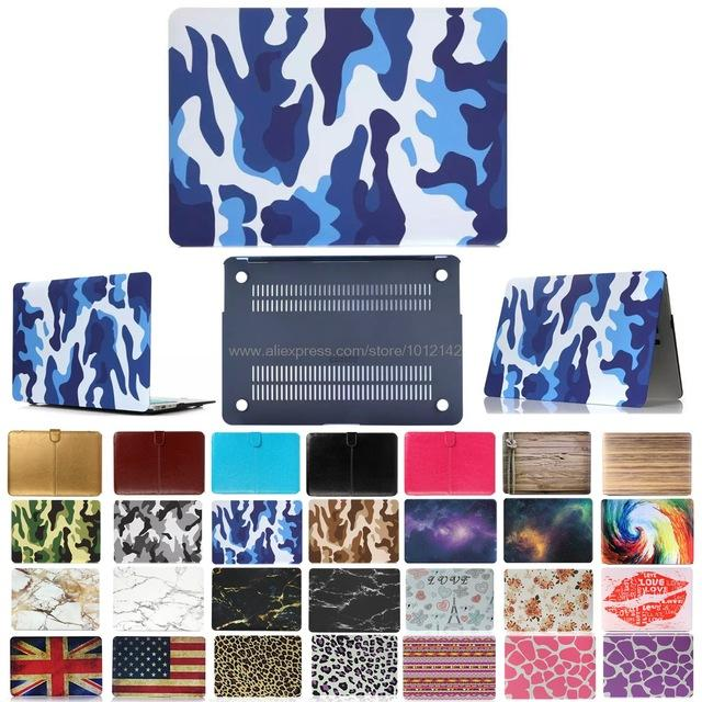 "Fashion Matte Patterns Hard Case Cover for 11"" 11.6"" Apple Mac Macbook 13"" Air 13.3"" Pro Retina 15.4 inch Accessories"
