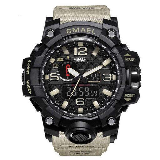 Men Waterproof Military Watch - case.n.more