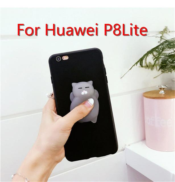 Cute Silicone Squishy Cases For Huawei