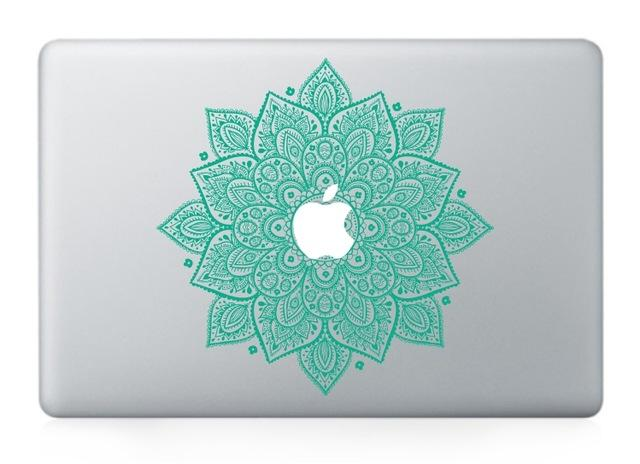 Laptop Vinyl Partial Decal DIY Sticker Artistic Window Grille Skin For Macbook Air Pro Retina - case.n.more