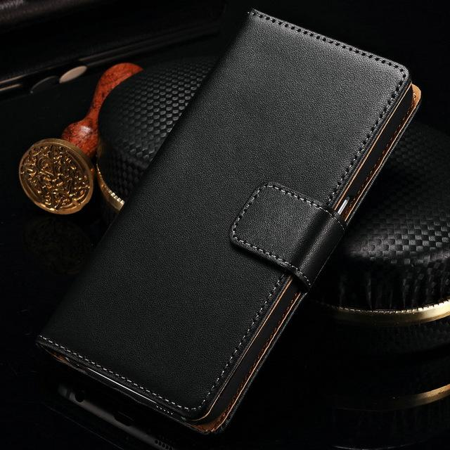 Wallet Genuine Leather Case for Samsung Galaxy - case.n.more