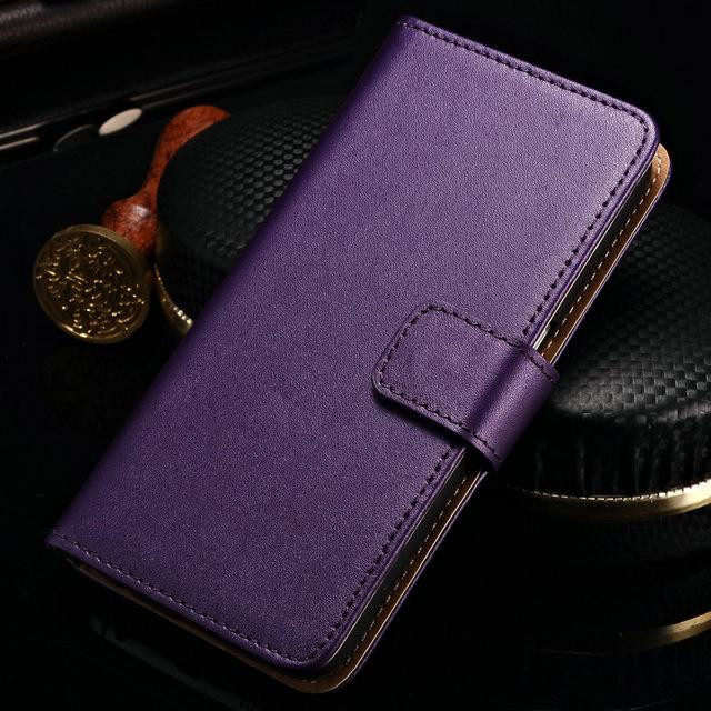 Wallet Genuine Leather Case for Samsung Galaxy
