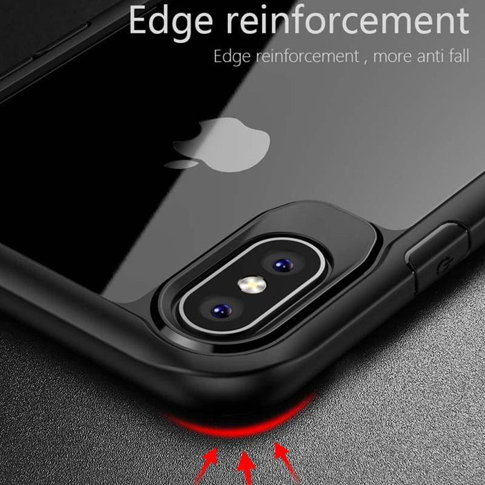 iPhone X Luxury Airbag Shockproof Armor Case