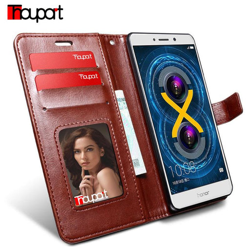 Huawei Honor 6X /Huawei Mate 9Lite Honor 6X Case Retro Business Wallet Leather Case