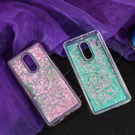 Liquid phone Case sFor  Lenovo K6 Note  and  Lenovo K6 Plus Case Glitter