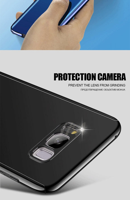 Plating Mirror Protection Case For Samsung S8 S7 Note 8 / S7 Edge S8 S8 Plus Cover Samsung Galaxy