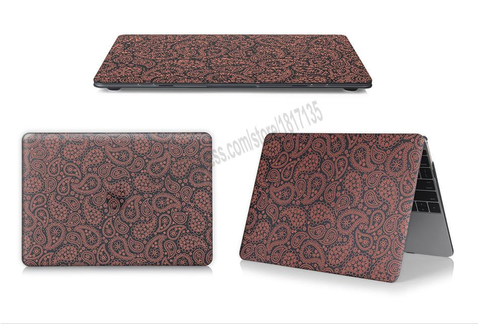 Girls worm petals pattern Case Cover for Macbook Air 13 12 11 Pro 13 15 inch Retina Laptop - case.n.more