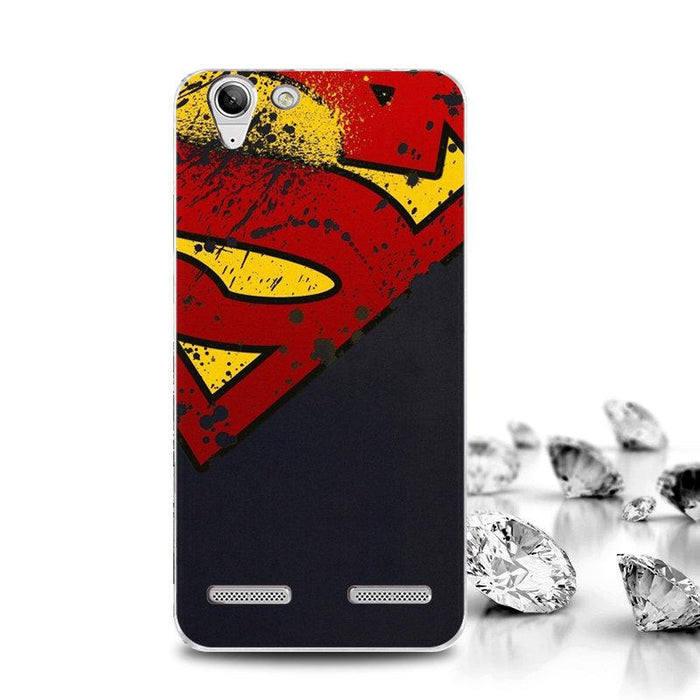Print Cartoon Case For Lenovo Vibe K5 Case ( Lenovo K5 Plus/Lenovo A6020 Phone Case )