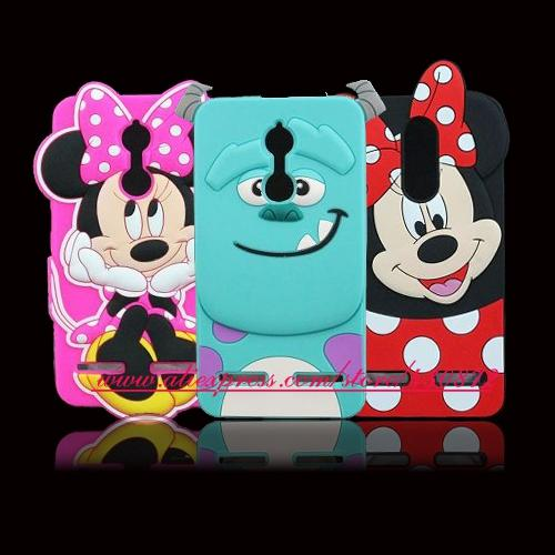 "Minnie Stitch Sulley Cartoon Soft Cover for Lenovo K6 Power 5.0"" Phone Case Lenovo Vibe K6 - case.n.more"