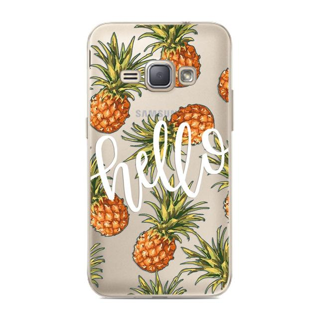 CROWNPRO FOR Coque Samsung J1 2016 Case Cover Soft Silicone