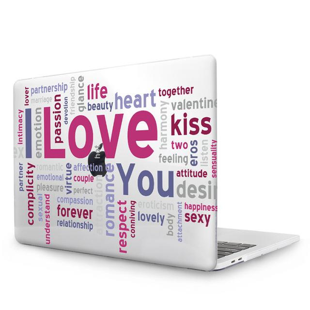 MTT Vocabulary Gather Case Cover For Apple Mac book Air 11 12 Pro 13 15