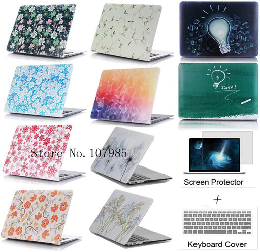 Cover Case Laptop Protector For Mac book 11 12 13.3 15.4 inch For Apple macbook 11 12 13 15 Air Pro with Retina - case.n.more