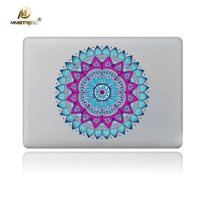 "Mandala Laptop Sticker for Macbook Decal Air Pro Retina 11"" 13"" 15"" Mac notebook"
