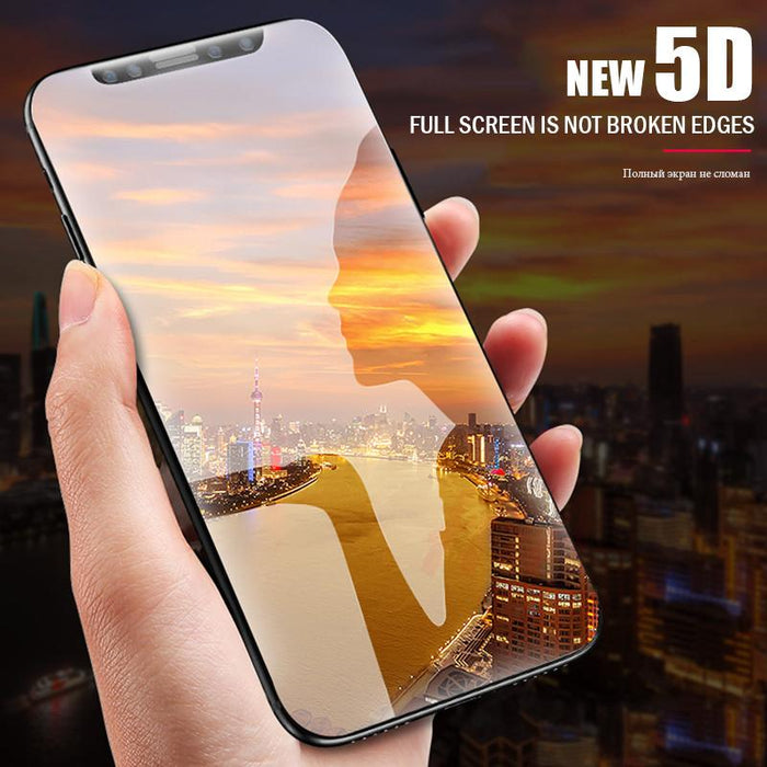 Curved Premium Tempered Glass For iPhone