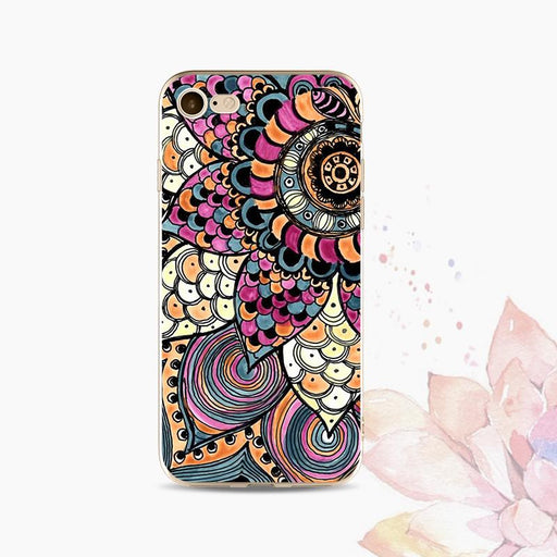 Vivo Colorful Mandala Soft Case