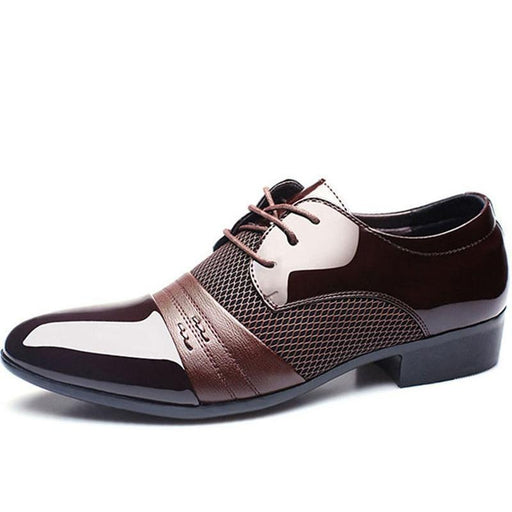 Luxury Men Leather Shoes Oxford