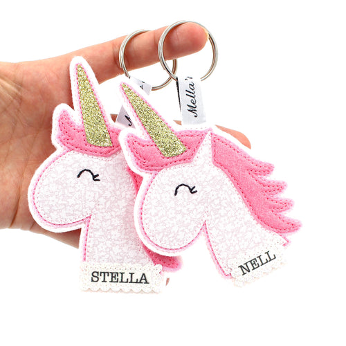 Unicorn Bag Tag