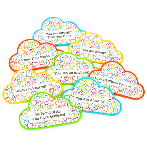 Clouds of Encouragement Magnets