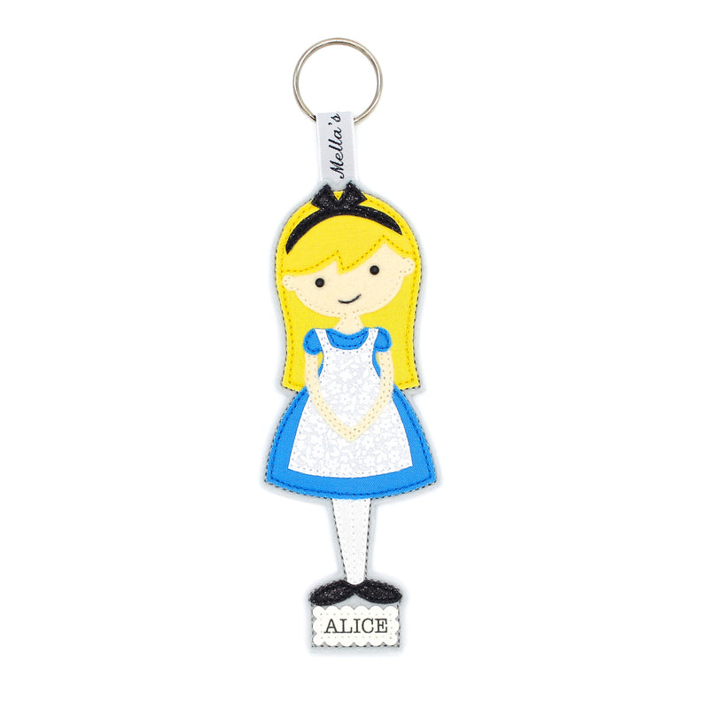 Alice in Wonderland Bag Tag