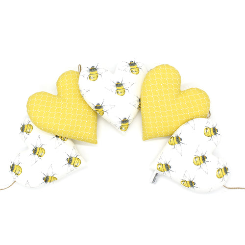 Bee Heart Garland
