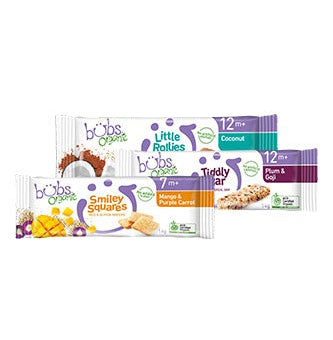 Organic Snacks for Every Bub