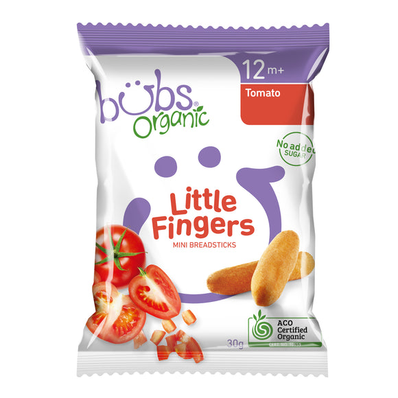 Bubs Organic Little Fingers Tomato