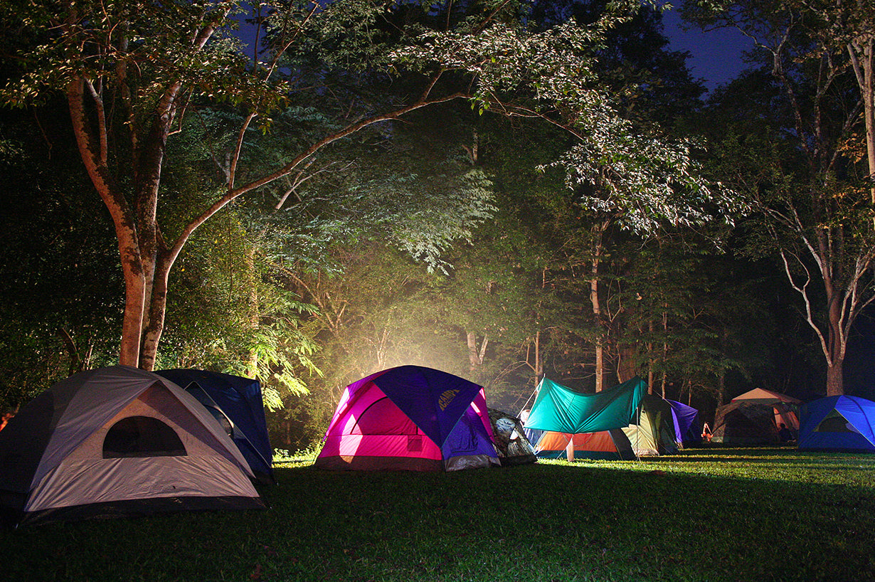 Camping by the night