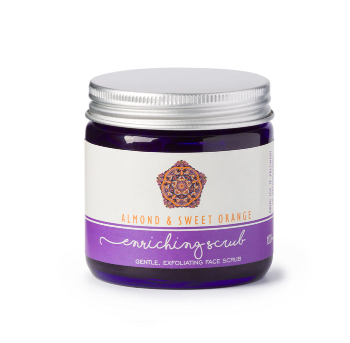 Almond & Sweet Orange Enriching Face Scrub